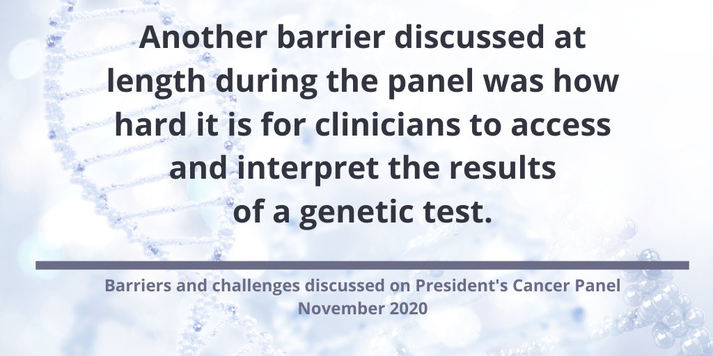 Top 5 Takeaways From President's Cancer Panel on Breast Cancer Screening & Genetic Testing Access