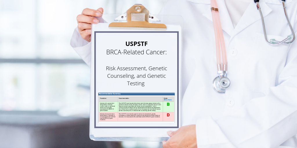 The USPSTF Recommends More Women Receive BRCA Screening. Are you Ready?