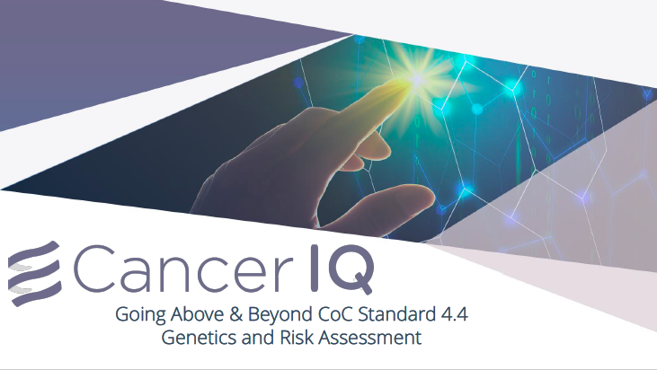 How to go Above and Beyond the Commission on Cancer Standards